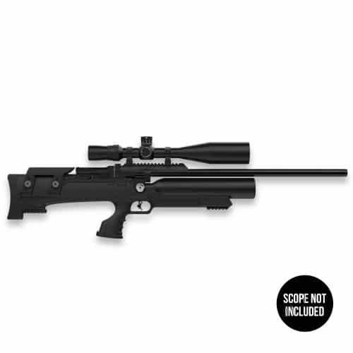 Aselkon MX8 .22 Caliber PCP Air Rifle - Black Synthetic Stock